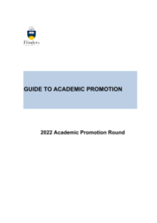 Guide to academic promotion 2019
